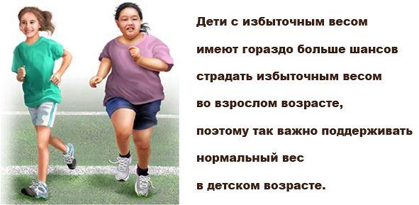 дети страдающие ожирением